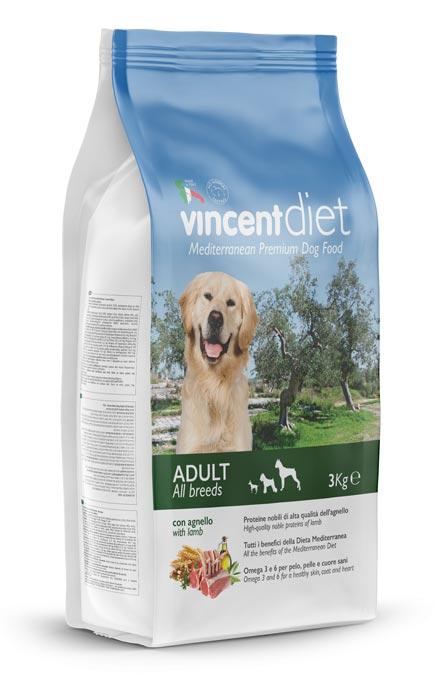 Vincent Diet Adult Lamb suņu barība
