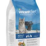 Vincent DIET ADULT CAT WITH BLUEFISH 1,5 KG