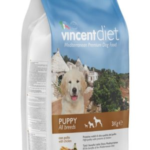 VINCENT DIET PUPPY WITH CHICKEN 15kg
