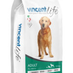 VINCENT LIFE DOG ADULT WITH BEEF AND RICE 15kg
