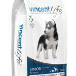 VINCENT LIFE DOG JUNIOR WITH CHICKEN AND RICE 15kg